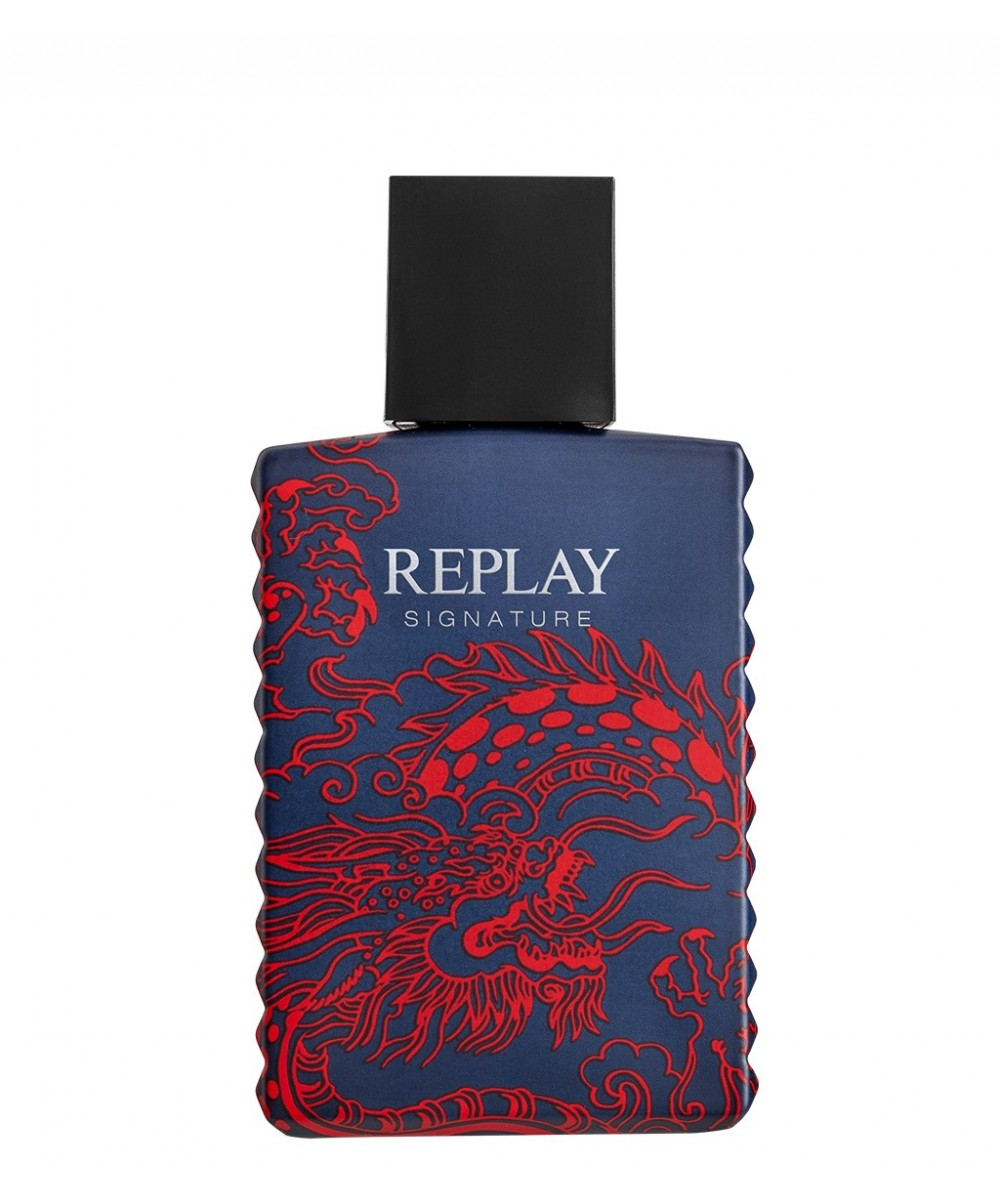 REPLAY SIGNATURE Red Dragon for Man -...